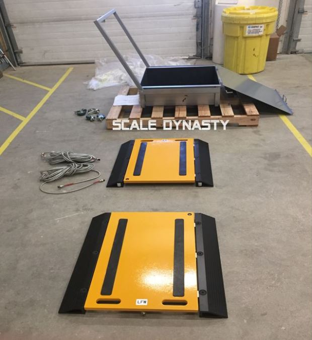 axle scale pads
